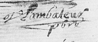 LAMBATEUR Jean - 1688 - Ambillou-Château-Prêtre